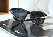 Classic Cat Eye Shades Black Frame Sunglasses - MeetYoursFashion - 4