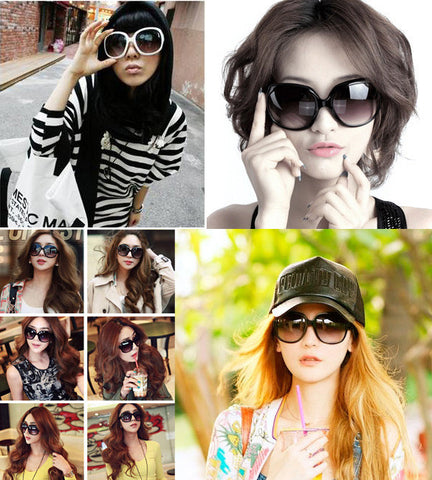 Women's Retro Vintage Shades Oversized Designer Sunglasses - MeetYoursFashion - 5