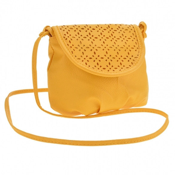 New Fashion Women's Girls Cute Mini Shoulder Bag Yellow Cross Bag