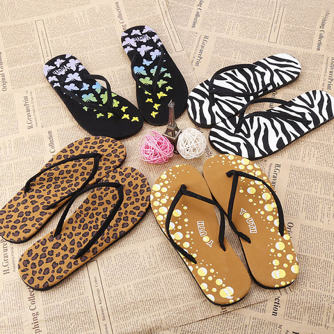 Women Casual Beach Flip Flops Summer Flat Sandals Slippers - MeetYoursFashion - 1