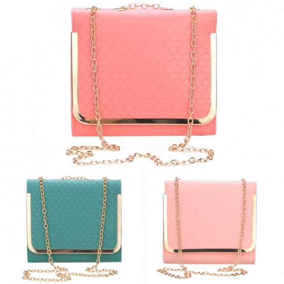 New Fashion Korean Style Retro Women Candy Color Satchel Bag Shoulder Bags Handbag