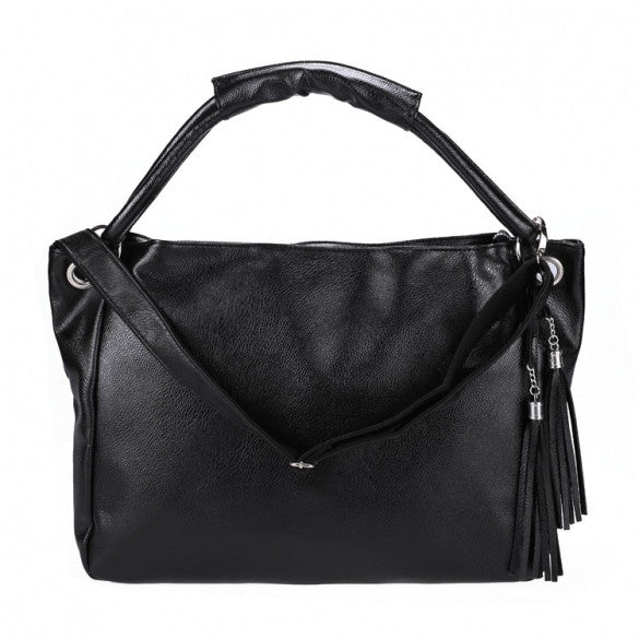 Fashion Korean Elegant Women's Tote Handbag Shoulder Bag Cross Synthetic Leather Bag Big Size