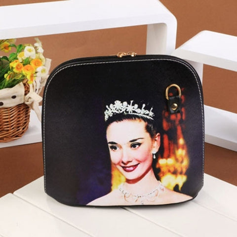 Hot Fashion Women Synthetic Leather Print Cross Bag Small Casual Party Messenger Bag Shoulder Bag