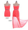 Irregular Low High Bodycon Prom Dress - MeetYoursFashion - 5