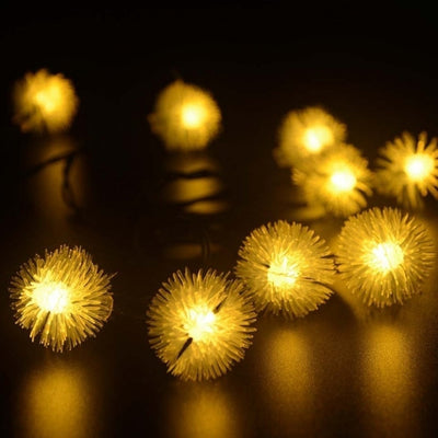 4.5M 20 LED Solar String Light Multi-color Waterproof Christmas Party Outdoor Decor Light