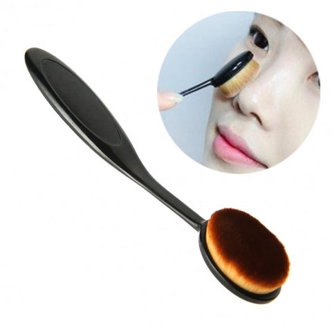 New 1PC Toothbrush Makeup Brush Foundation Blush BB Cream Powder Portable Brush