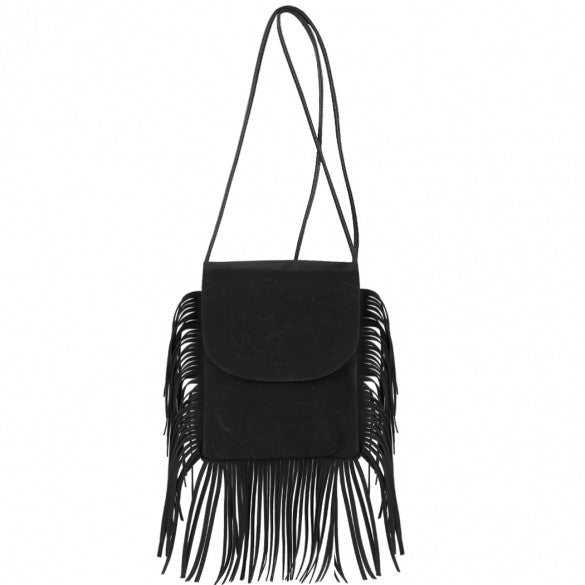 New Fashion Korean Style Girls Women Small Shoulder Bag Tassel Message Bag