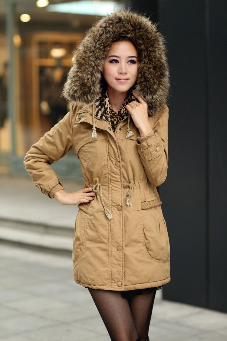 Momens Faux Fur Long Hooded Coat - Meet Yours Fashion - 8