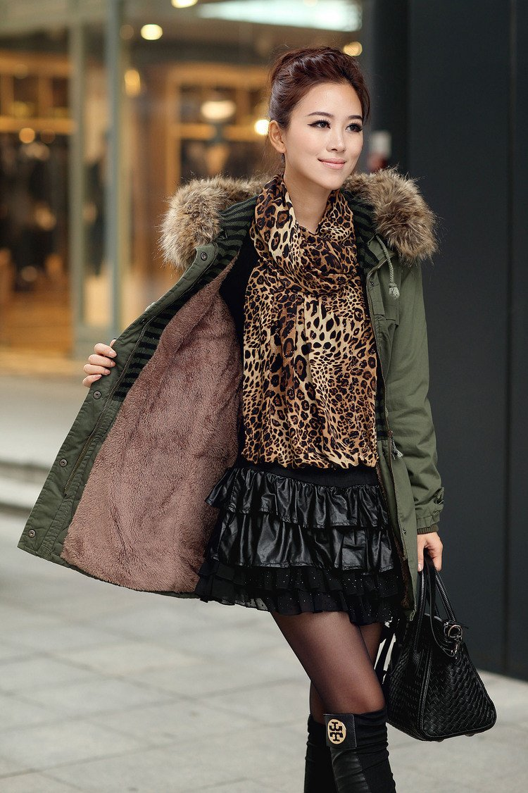 Momens Faux Fur Long Hooded Coat - Meet Yours Fashion - 6