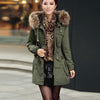 Momens Faux Fur Long Hooded Coat - Meet Yours Fashion - 1