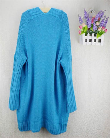 Hip Hop Loose Pattern Batwing Sleeve Cardigans - MeetYoursFashion - 6