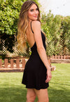 Sexy Spaghetti Strap Backless Dress - Meet Yours Fashion - 2