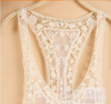 Lace Crochet Hollow Swimwear Bikini Beach Cover Up Dress - MeetYoursFashion - 9