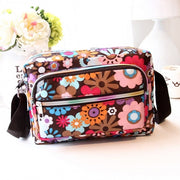 Women Casual Nylon Messenger Bag Shoulder Bag Cosmetic Bags Handbag