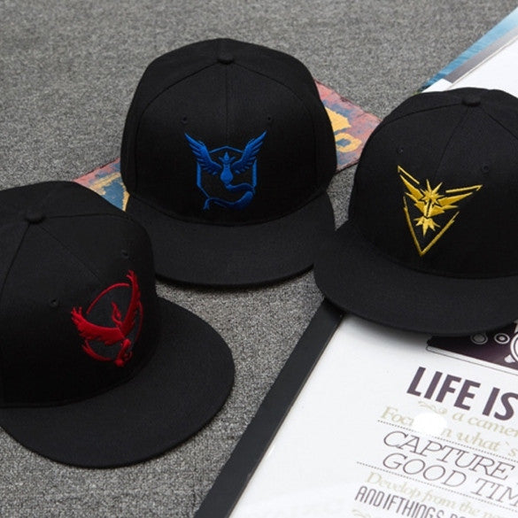Pokemon GO New Cotton Unisex Couple Baseball Hat Hip-hop Adjustable Print Casual Sports Fashion Cap