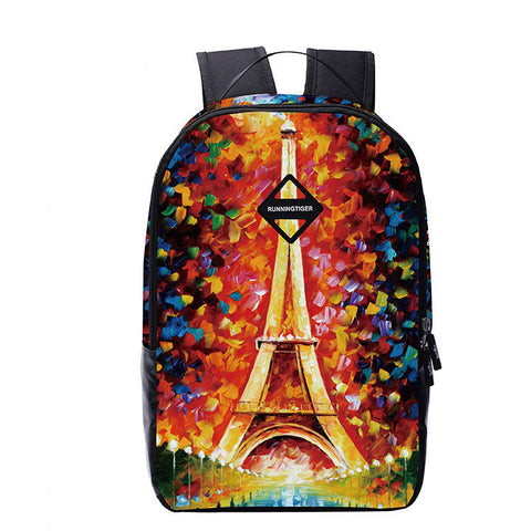 Unique Print Casual Style Backpack Travel Bag - Meet Yours Fashion - 7