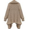 Cardigan Loose Upset Asymmetric Pure Color Sweater - Meet Yours Fashion - 5