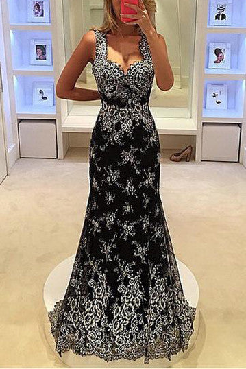 Print-V-neck-Sleeveless-Long-Party-Dress