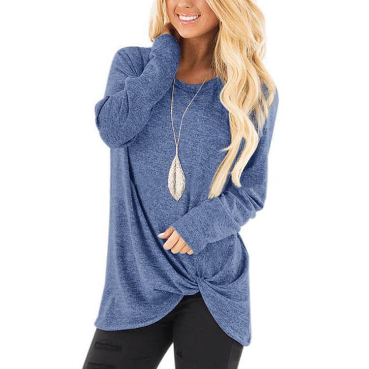 Loose Pullover Blouse