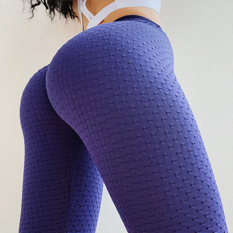 High Waist Stretch Skinny Bodycon Sports Pants