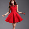 Squins A-line Skater Pleat Mini Prom Dress - MeetYoursFashion - 2