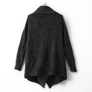 Fashion Splicing Pothook Cardigans Sweater Coat For Women - Meet Yours Fashion - 2