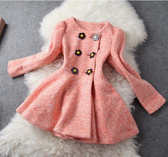Women's Double-breasted Short Woolen Coat - Meet Yours Fashion - 1