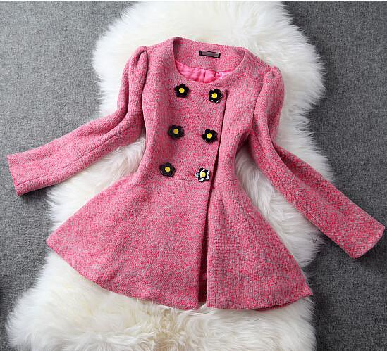 Women's Double-breasted Short Woolen Coat - Meet Yours Fashion - 2