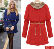 Two Pieces Long Woolen Trench Coat - MeetYoursFashion - 3
