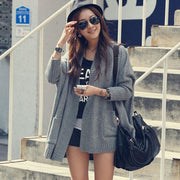 Hip Hop Loose Pattern Batwing Sleeve Cardigans - MeetYoursFashion - 1