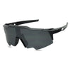 all black retro goggle sunglasses