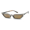 tortoise brown bedazzled square cat eyed sun glasses