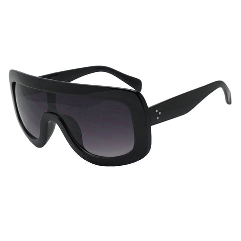 LARGE BOLD FULL SHIELD SUNGLASSES