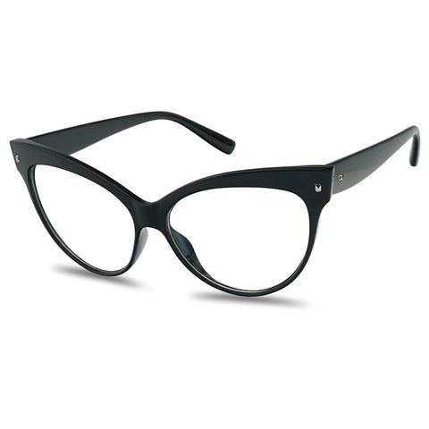 BOLD BROW RETRO 60'S CAT EYE GLASSES