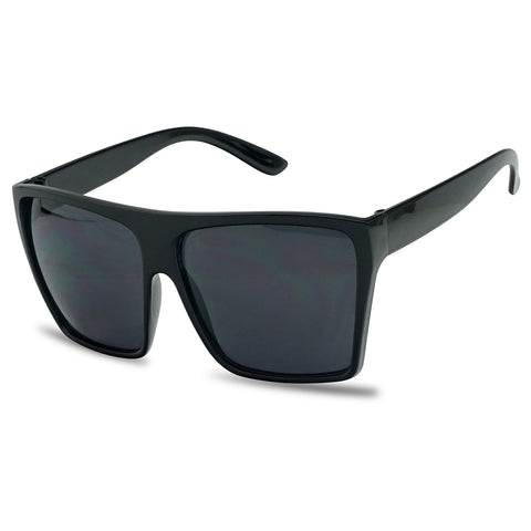 OVERSIZED BIG DROP FLAT TOP SUNGLASSES