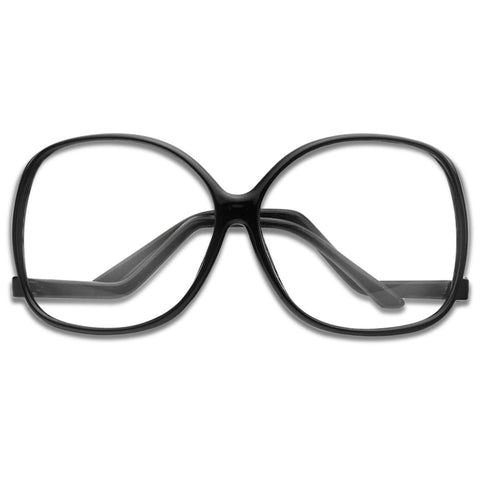 f83e9289af 70 S EXTRA OVERSIZED UPSIDE DOWN ZIGZAG TEMPLE GLASSES