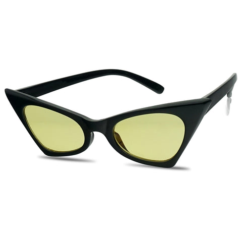 1950'S HIGH POINTED CATEYE SUNGLASSES