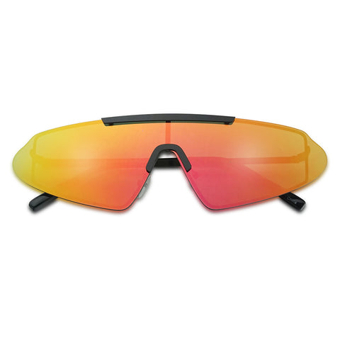NARROW FUTURISTIC SHIELD SUNGLASSES