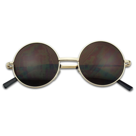 48MM ROUND JOHN LENNON INSPIRED SUNGLASSES