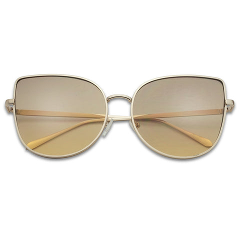 SUPER CUTE OVERSIZED OCEANIC CAT EYE SUNGLASSES