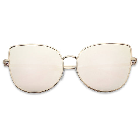 FABULOUS LARGE HIGH POINTED CAT EYE SUNGLASSES
