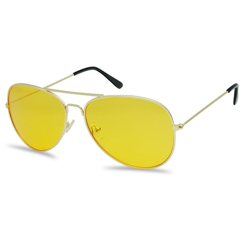 COLORFUL CLASSIC AVIATOR SUNGLASSES