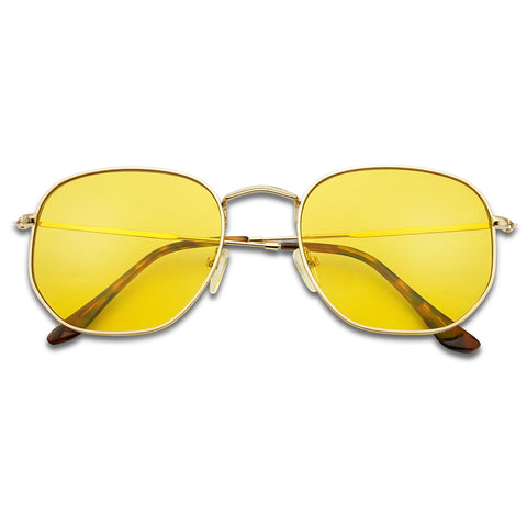 ULTRA SLIM GEOMETRIC FLAT PANTONE SUNGLASSES