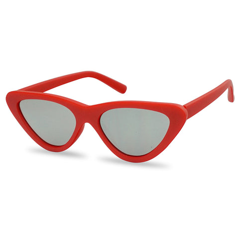 3629238c971f0 FLAT TRIANGULAR CLOUT CAT EYE SUNGLASSES