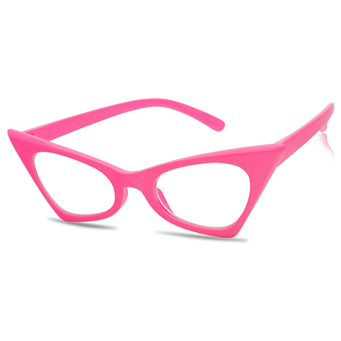 RETRO 1950'S FIERCE CAT EYE GLASSES
