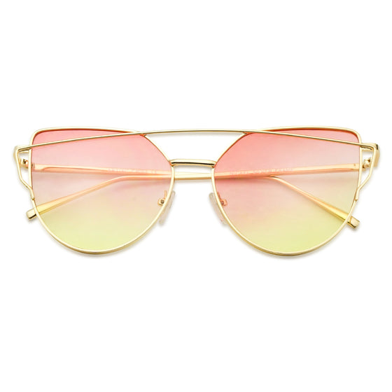 Oceanic Two Tone Heart Sunglasses