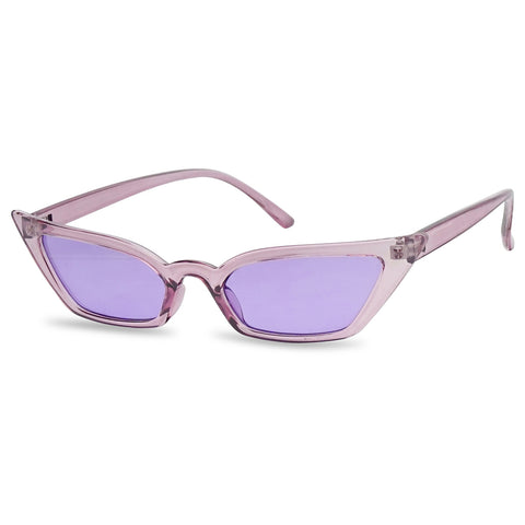 NARROW VINTAGE 50's SQUARE CAT EYE SUNGLASSES
