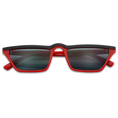 LOW RETRO SLEEK 90's CATEYE SUNGLASSES