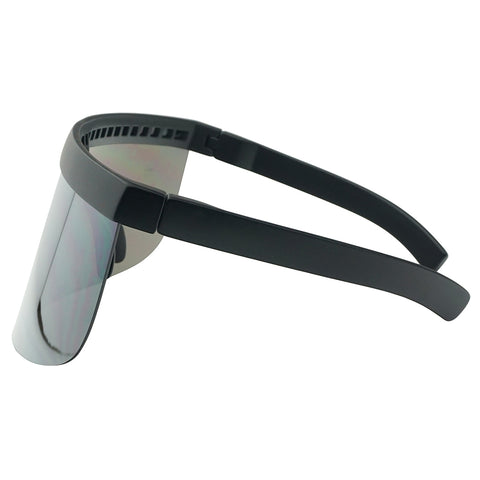 OVERSIZED FULL SHIELD VISOR SUNGLASSES
