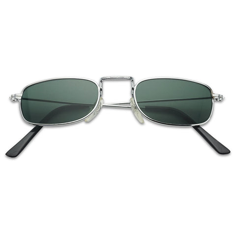 SMALL RETRO 90'S GLASS LENS SUNGLASSES